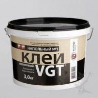 Клей ВГТ акриловый напольный (ЭКОНОМ) 3 кг